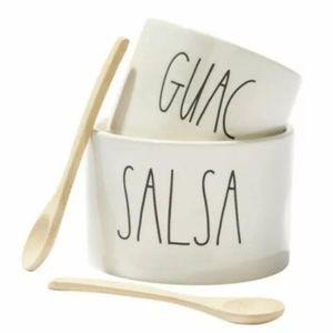 🥑Rae Dunn Artisan Collections Guac/Salsa Bowl Set